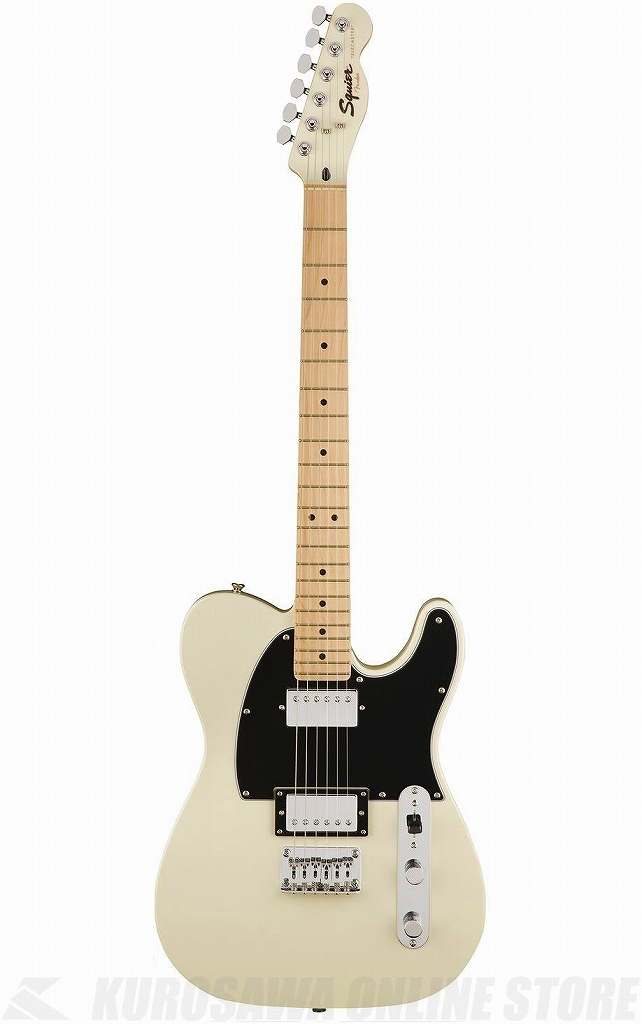 Squier by Fender Contemporary Telecaster HH-Pearl White/M-【送料無料】 【ONLINE STORE】