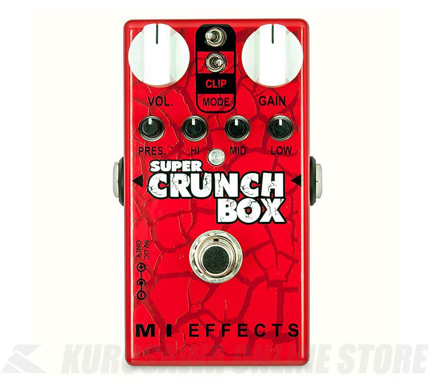 MI AUDIO  Super Crunch Box V2《エフェクター/ディストーション》【送料無料】 【ONLINE STORE】