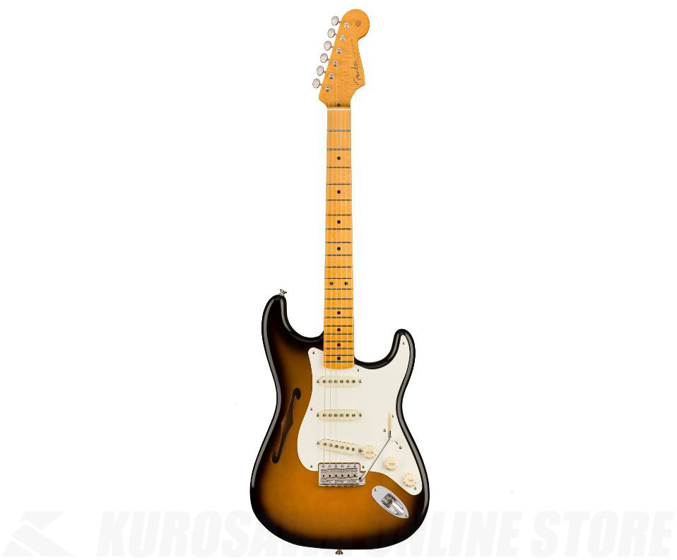 Fender USA Eric Johnson Thinline Stratocaster (2-Color Sunburst)【送料無料】 【ONLINE STORE】