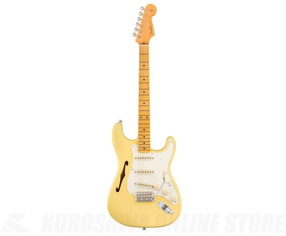 Fender USA Eric Johnson Thinline Stratocaster (Vintage White)【送料無料】 【ONLINE STORE】