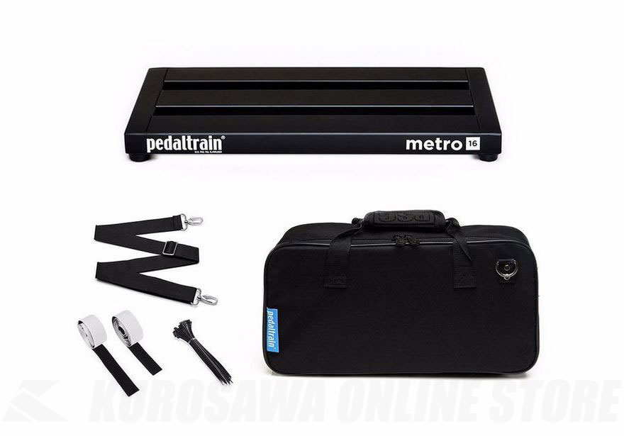Pedaltrain Metro 16 with soft case -PT-M16-SC-《エフェクターボード》【送料無料】 【ONLINE STORE】