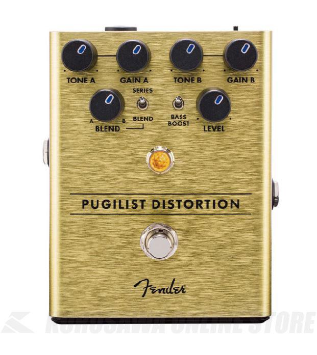 商舗 フェンダー 《エフェクター》 Fender PUGILIST DISTORTION ONLINE ディストーション 着後レビューで 送料無料 PEDAL ピュジリスト STORE