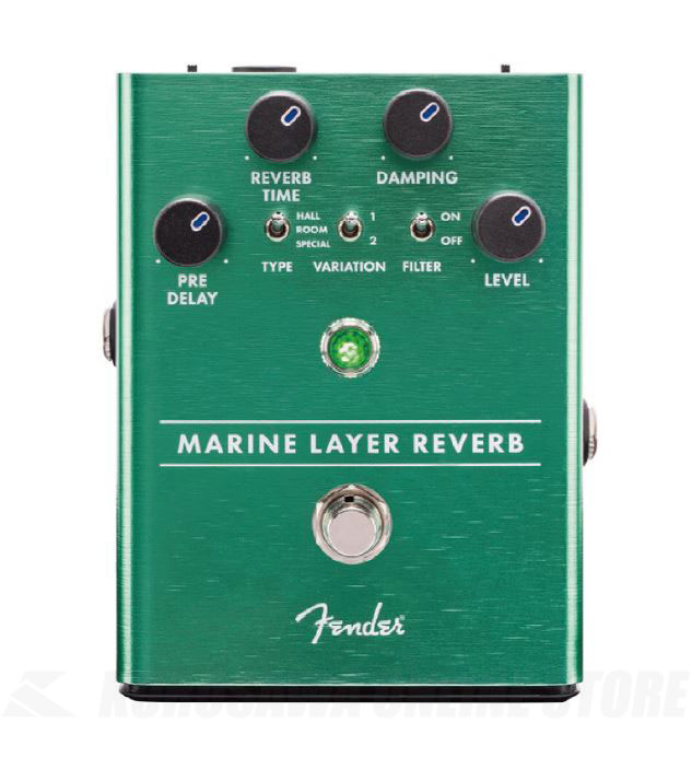 Fender MARINE LAYER REVERB PEDAL(マリンレイヤー・リバーブ)【送料無料】(ご予約受付中)