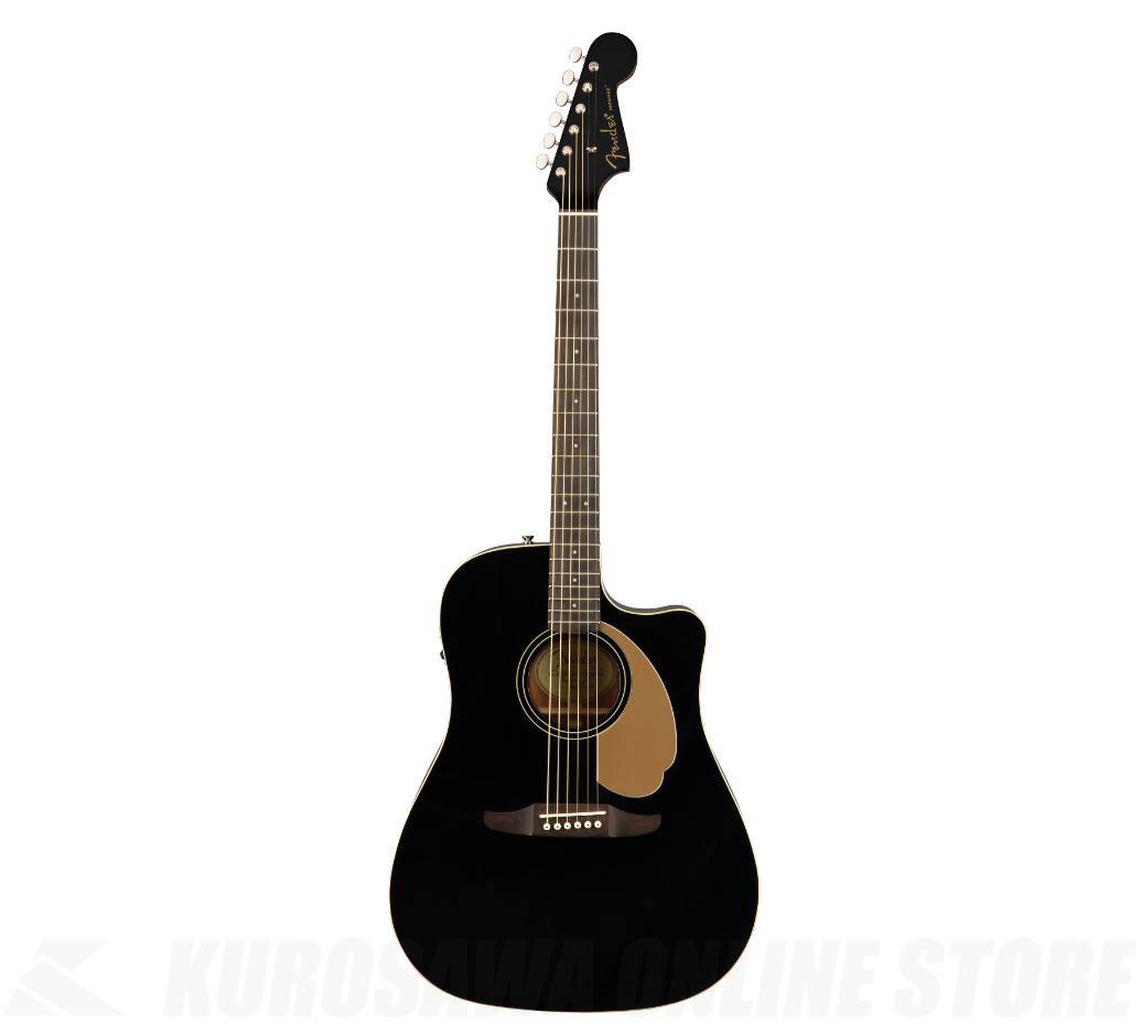 Fender Redondo Player Jetty Black《アコースティックギター》【送料無料】 【ONLINE STORE】