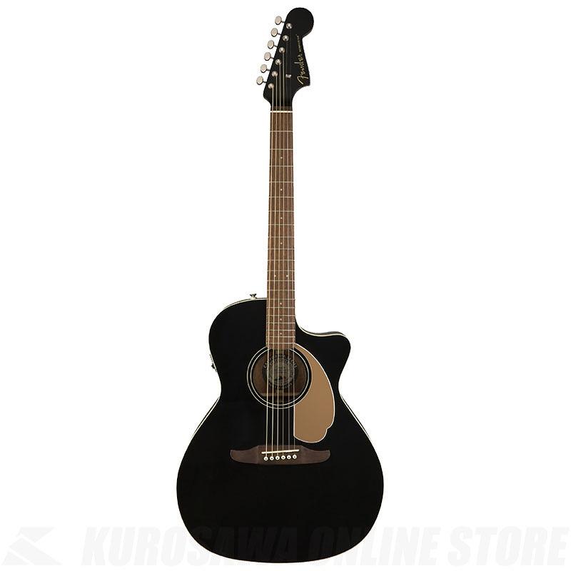 Fender Acoustics Newporter Player (Jetty Black)《アコースティックギター》(お取り寄せ)【ONLINE STORE】