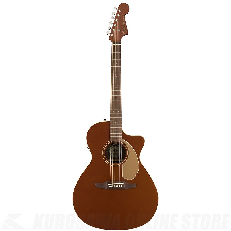 Fender Acoustics Newporter Player (Rustic Copper)《アコースティックギター》(お取り寄せ)【ONLINE STORE】