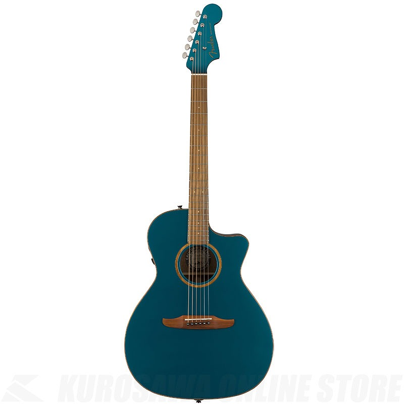 Fender Acoustics Newporter Classic(Cosmic Turquoise)《アコースティックギター》【送料無料】 【ONLINE STORE】