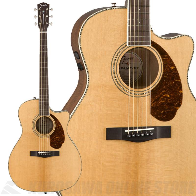 Fender PM-4CE Auditorium Limited, Natural【数量限定品】《アコースティックギター》【送料無料】 【ONLINE STORE】