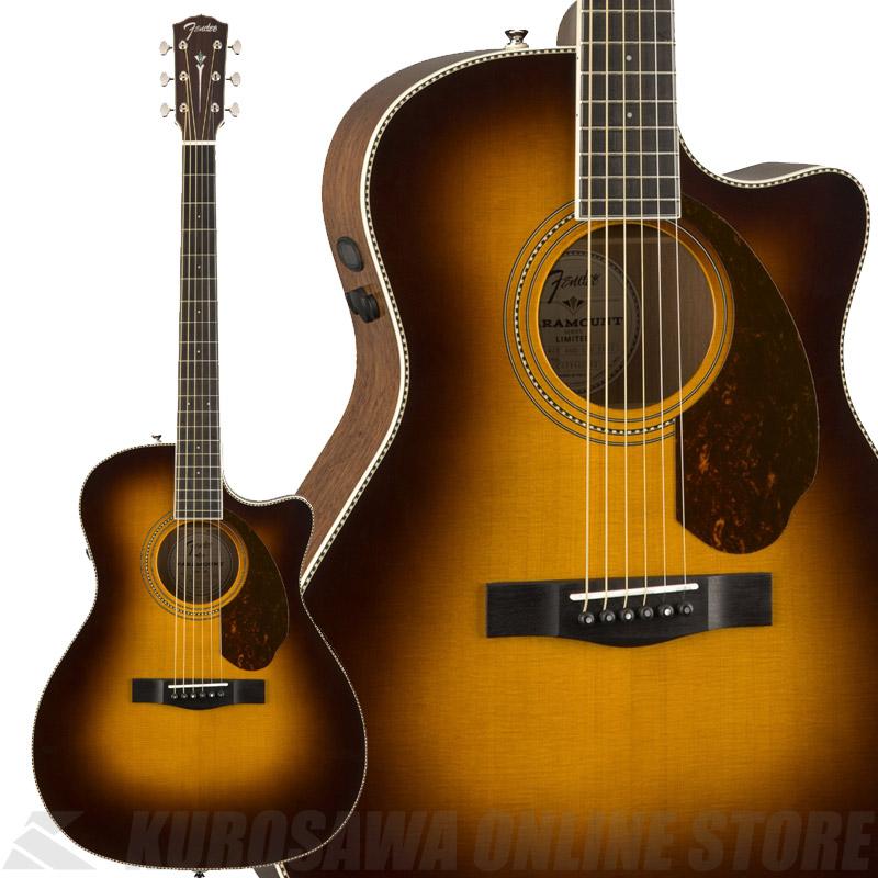 Fender PM-4CE Auditorium Limited, Vintage Sunburst【数量限定品】《アコースティックギター》【送料無料】 【ONLINE STORE】