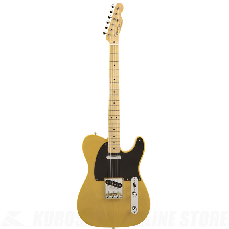 Fender MIJ 2018 Limited Collection 50s Telecaster, Maple Fingerboard, Butterscotch Blonde 【ONLINE STORE】