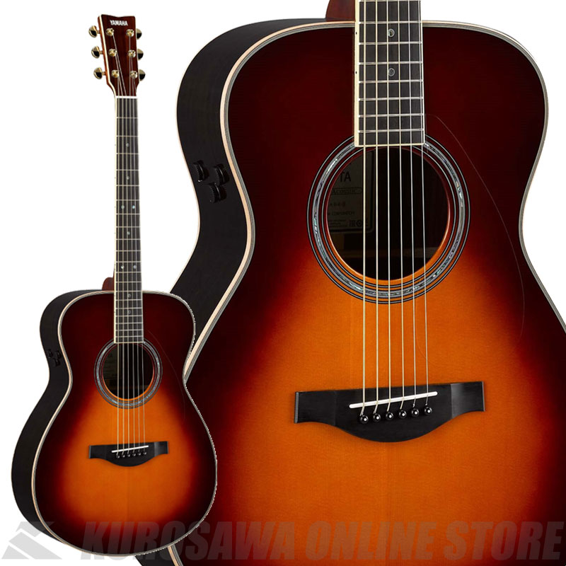 YAMAHA LS-TA -BS(ブラウンサンバースト)- [トランスアコースティックギター]【送料無料】 【ONLINE STORE】