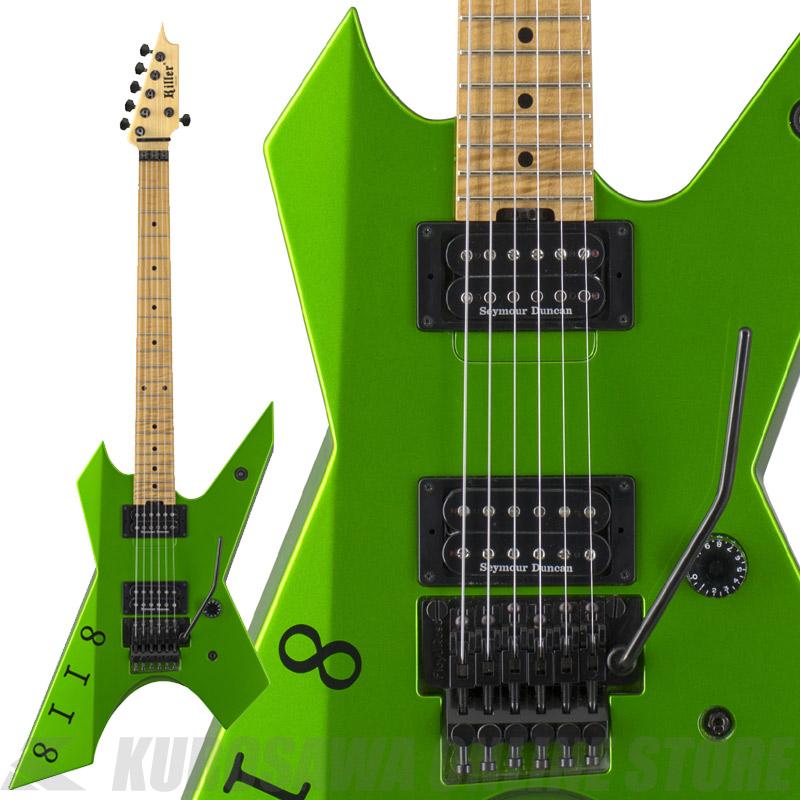 Killer KG-Prime Signature 8118-Viper Green-【送料無料】(受注生産品・ご予約受付中) 【ONLINE STORE】
