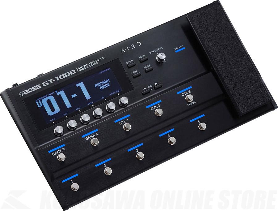 BOSS GT-1000 Guitar Effects Processor 《マルチエフェクトプロセッサー》【送料無料】【ご予約受付中】 【ONLINE STORE】