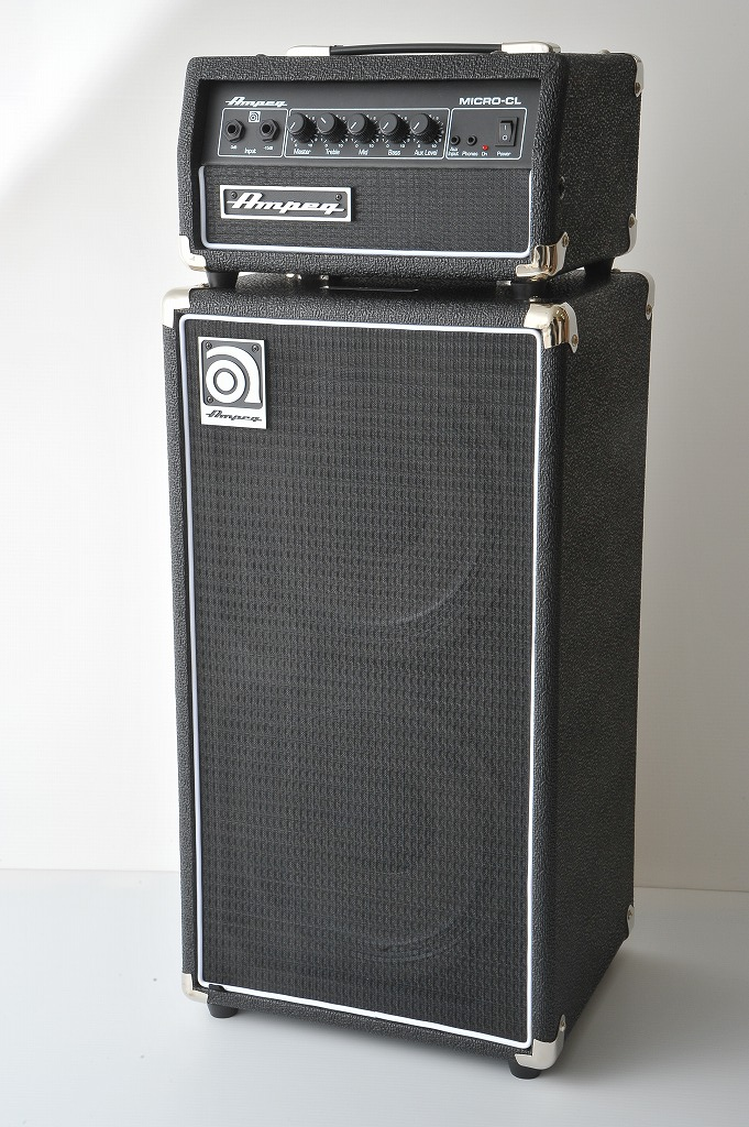 Ampeg Micro-CL Stack 《ベースアンプ/ヘッドアンプ+キャビネット》【送料無料】 【ONLINE STORE】