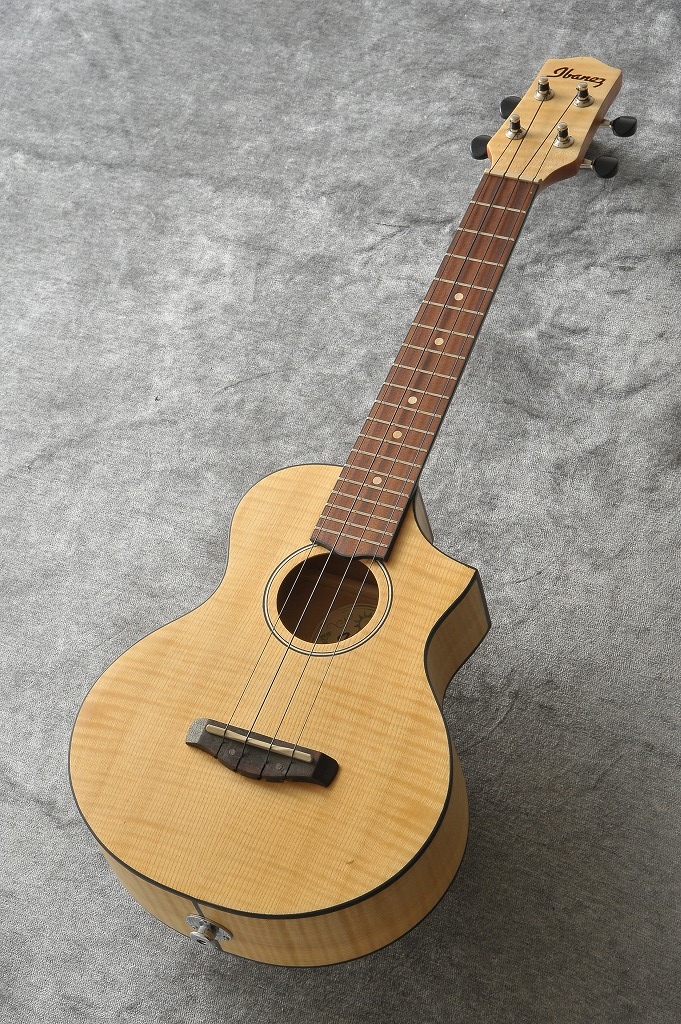 Ibanez UEW12E-OPN (Open Pore Natural) 《エレクトリックウクレレ/コンサートウクレレ》 【ONLINE STORE】