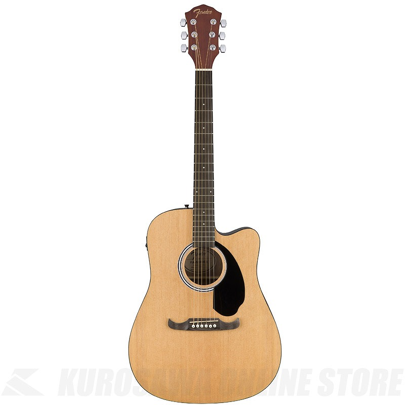 Fender FA-125CE Dreadnought Natural (お取り寄せ)【ONLINE STORE】