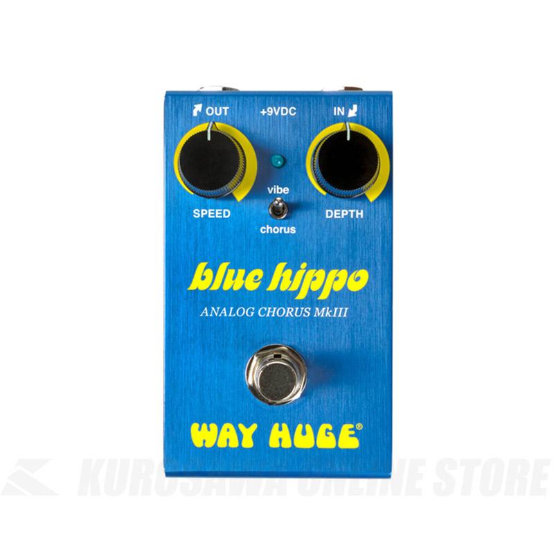 WAY HUGE SMALLS BLUE HIPPO ANALOG CHORUS[WM61]《エフェクター/コーラス》 【ONLINE STORE】