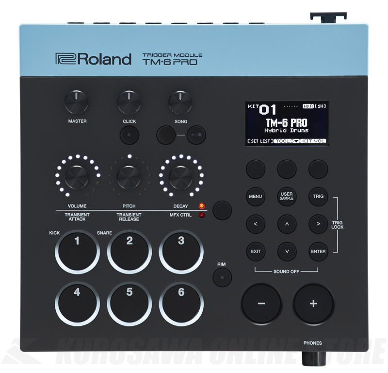 Roland TM-6 PRO [Trigger Module]【送料無料】【4月21日発売予定・ご予約受付中】 【ONLINE STORE】