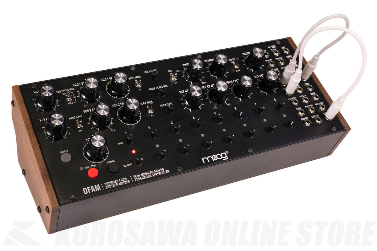 MOOG  DFAM<Drummer From Another Mother> 【送料無料】【4月28日発売・ご予約受付中】 【ONLINE STORE】