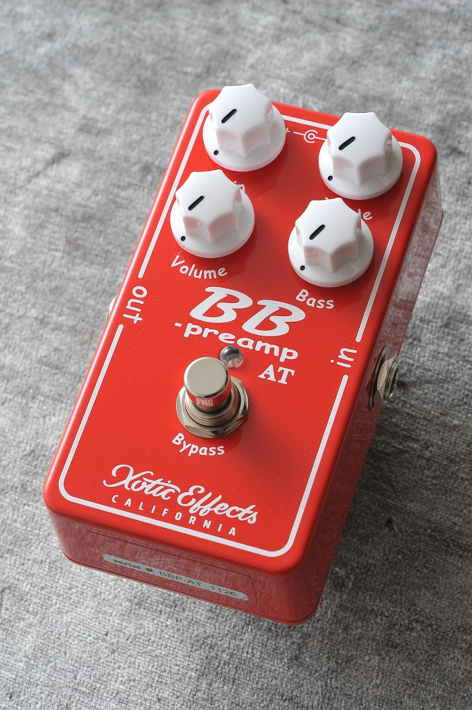 Xotic BB Preamp 2017 Andy Timmons Edition【送料無料】 【ONLINE STORE】