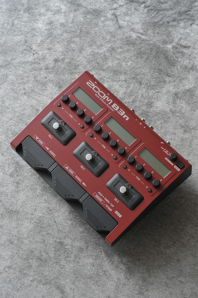 ZOOM Multi-Effects Processor B3n 【ONLINE STORE】