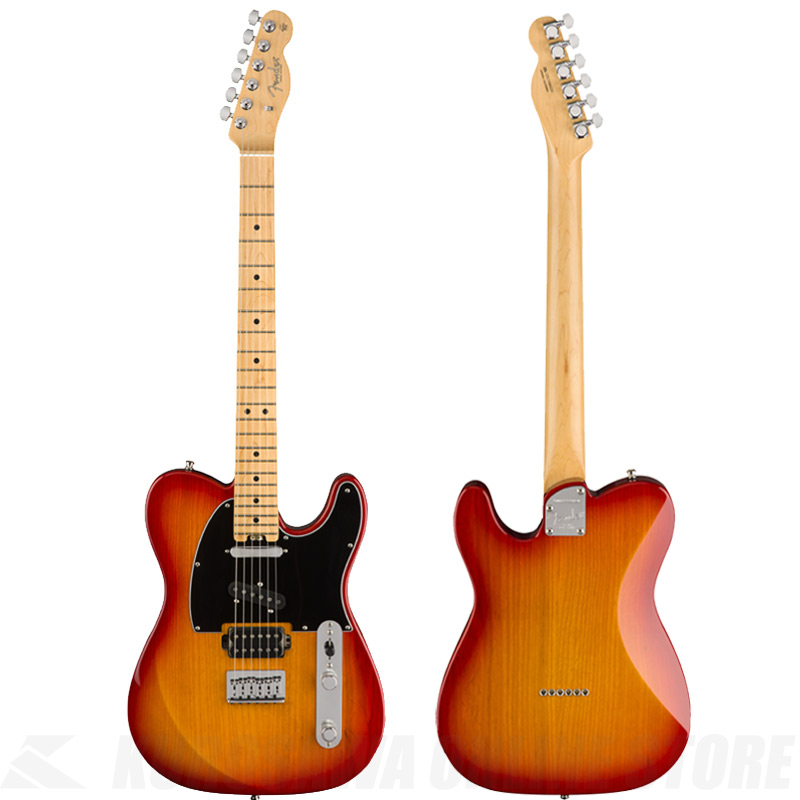 Fender USA Limited Edition American Elite Telecaster HSS, Maple Fingerboard, Antique Cherry Burst 《エレキギター》 【ONLINE STORE】
