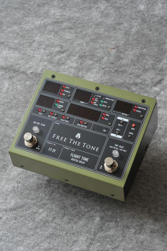 Free The Tone DIGITAL DELAY FLIGHT TIME [FT-2Y] 《エフェクター/デジタルディレイ》【送料無料】【ONLINE STORE】