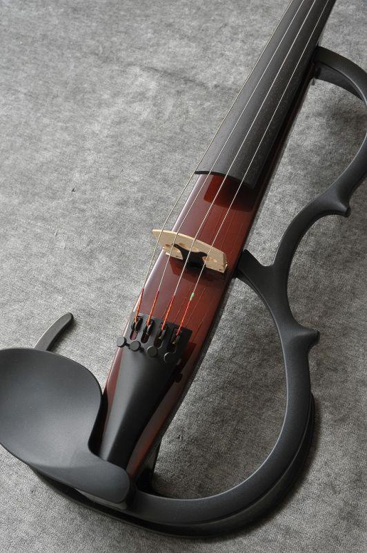YSV104S 《サイレントバイオリン》【送料無料】 弓・ハードケース・松脂付きセット BR YAMAHA Silent Violin