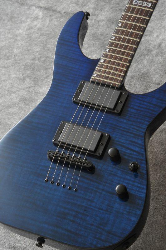 BanG Dream! ESP×バンドリ! ガールズバンドパーティ!Roselia 氷川紗夜 Model M-II SAYO (See Thru Purple)(エレキギター)(送料無料)(ご予約受付中)【ONLINE STORE】