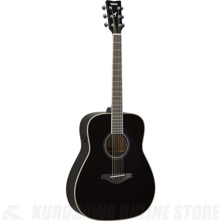 Yamaha FG-TA/BL(ブラック)(トランスアコースティックギター)(送料無料)【新品】【ONLINE STORE】