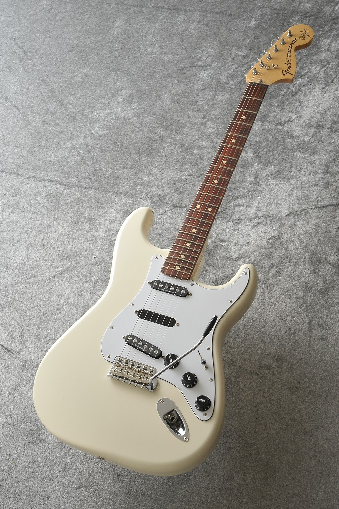 Fender Ritchie Blackmore Stratocaster, Scalloped Rosewood Fingerboard, Olympic White【即納可能】 《エレキギター》【ONLINE STORE】