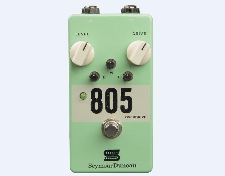 Seymour Duncan 805 -Overdrive-(エフェクター/オーバードライブ)(送料無料)(マンスリープレゼント)(お取り寄せ)【ONLINE STORE】