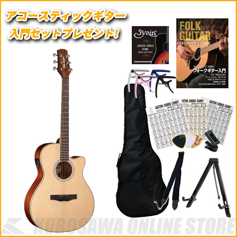 アコースティックギター 《モーリス》 MORRIS R-011 NAT アコースティックギター入門セットプレゼント 特価 [並行輸入品] ONLINE 送料無料 ご予約受付中 STORE