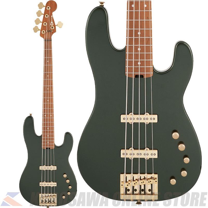 Charvel Pro-Mod San Dimas Bass JJ V Caramelized LamboGreenMetallic【高性能ケーブルプレゼント】(ご予約受付中)【ONLINE STORE】