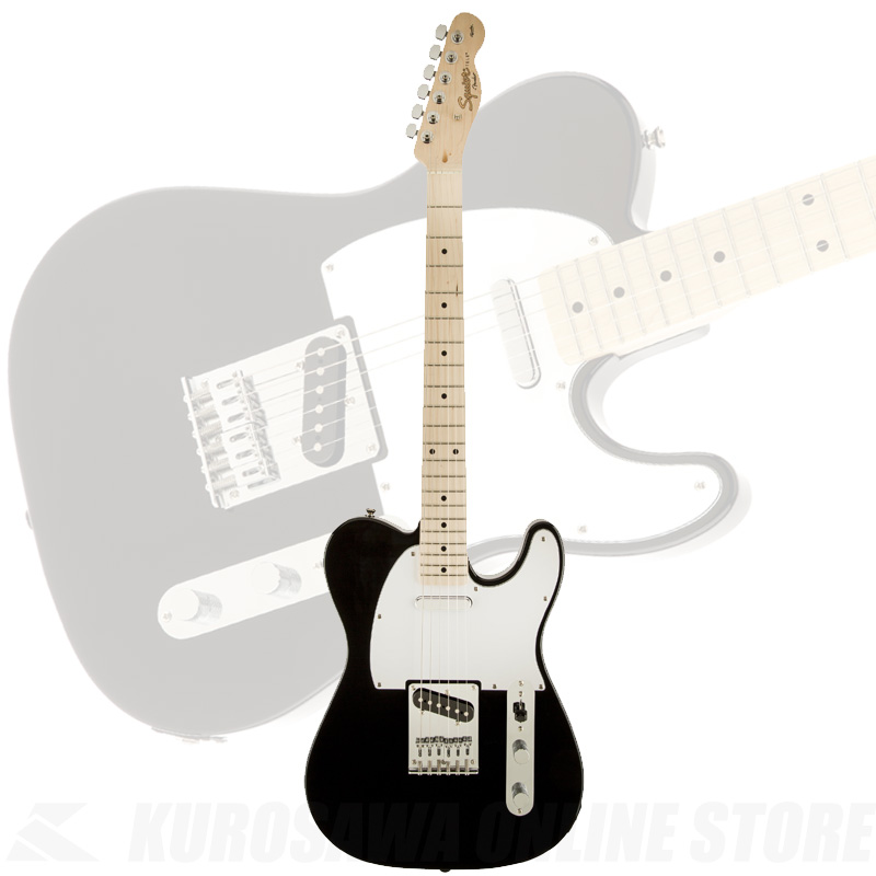 Squier by Fender Affinity Series Telecaster Black【送料無料】 【ONLINE STORE】