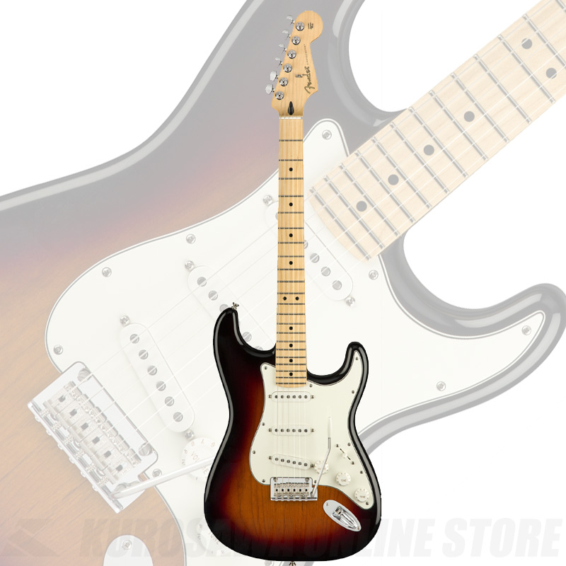 Fender Player Series Stratocaster 3-Color Sunburst/Maple Fingerborad【送料無料】 【ONLINE STORE】