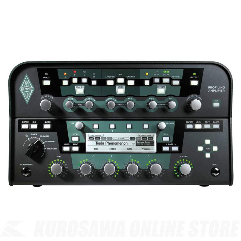 KEMPER PROFILER POWER HEAD BLACK【送料無料】 【ONLINE STORE】