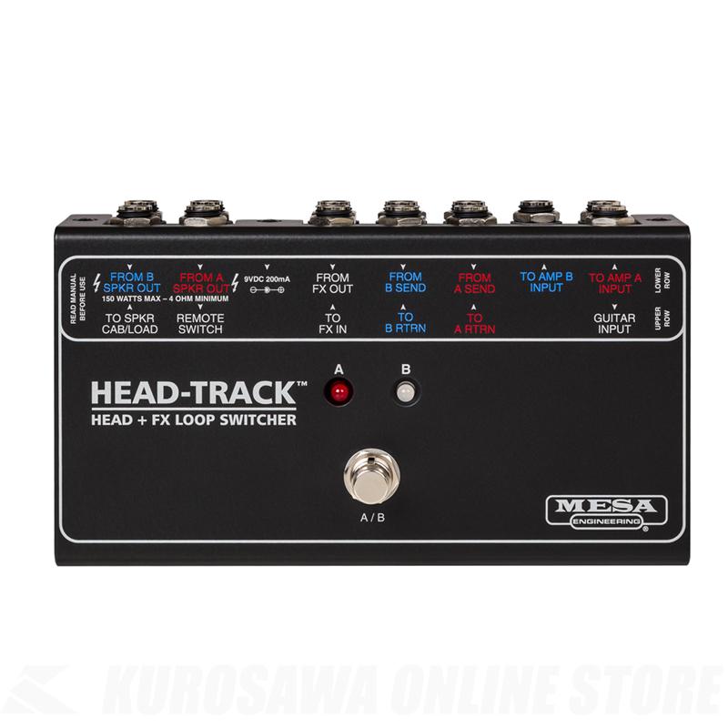 MESA/Boogie HEAD-TRACK Head + FX Loop Switcher【送料無料】【7月中旬発売】  【ONLINE STORE】