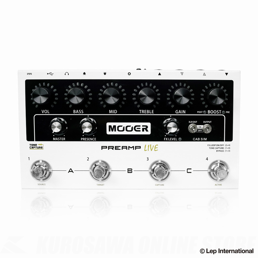MOOER Preamp Live 【送料無料】 【ONLINE STORE】