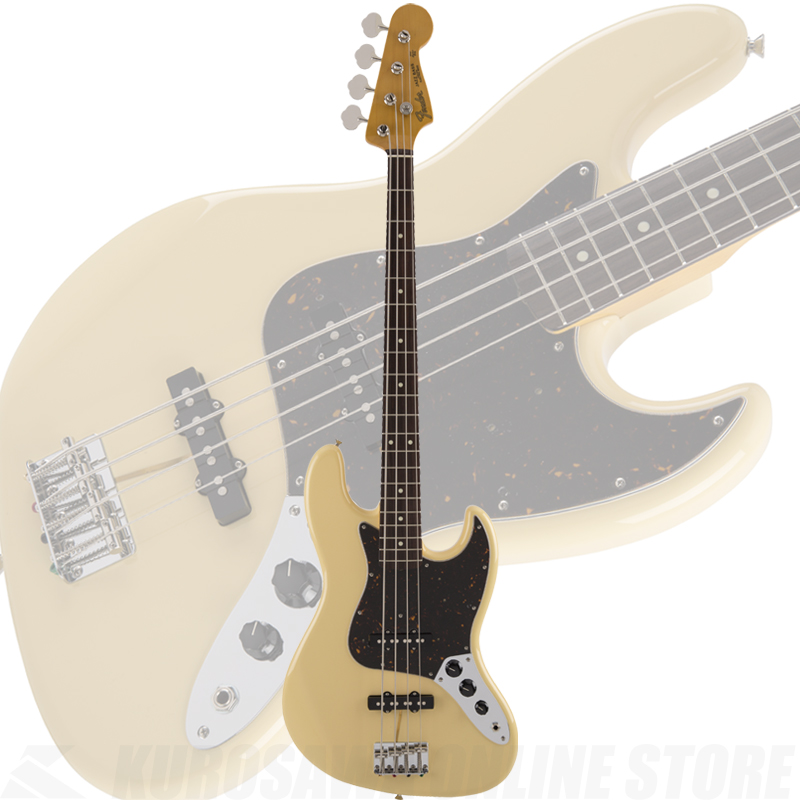 Fender Made in Japan Traditional 60s Jazz Bass Limited Run Vintage White【送料無料】 【ONLINE STORE】