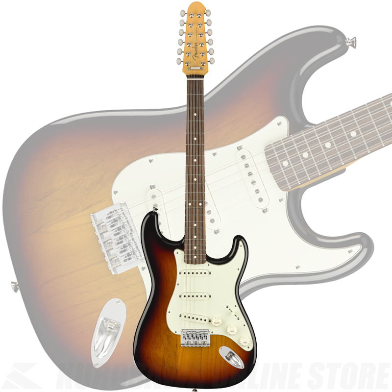 Fender Made in Japan Traditional Stratocaster XII (3-Color Sunburst)【8月下旬入荷予定】 【ONLINE STORE】