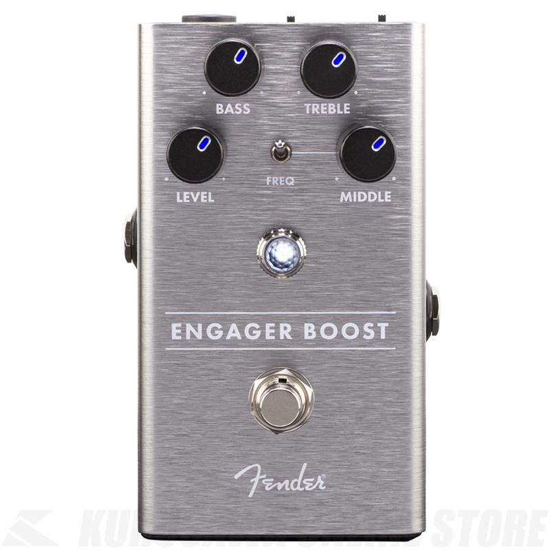 Fender Engager Boost(エンゲージャー・ブースト)《エフェクター》【送料無料】 【ONLINE STORE】