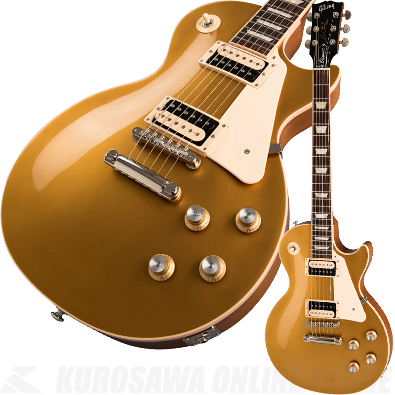 Gibson Les Paul Classic 2019 -Gold Top- 《エレキギター》【送料無料】 (ご予約受付中)【ONLINE STORE】
