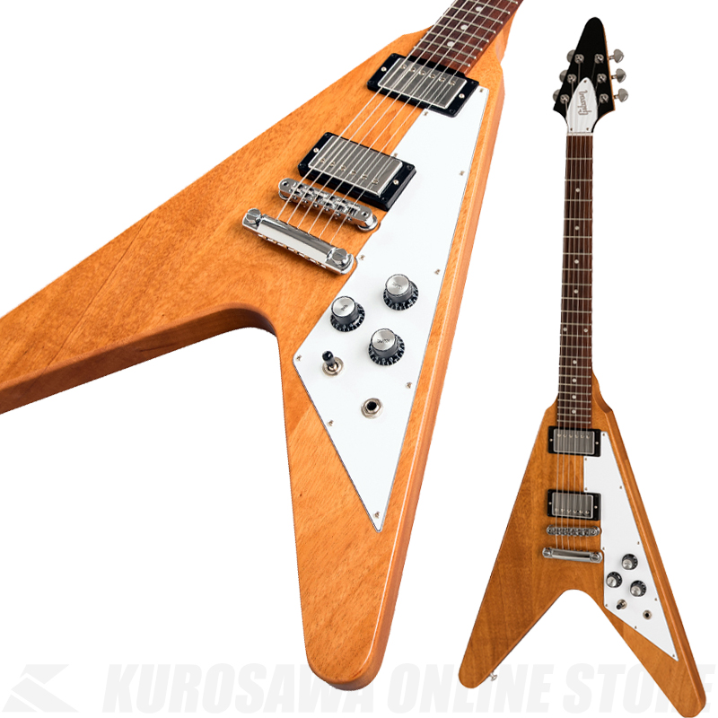 Gibson  Flying V 2019 Antique Natural 《エレキギター》【送料無料】(ご予約受付中) 【ONLINE STORE】
