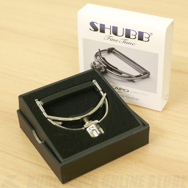 SHUBB FineTune F1 steel string《アコースティックギター用カポ/正規輸入品》【送料無料】 【ONLINE STORE】