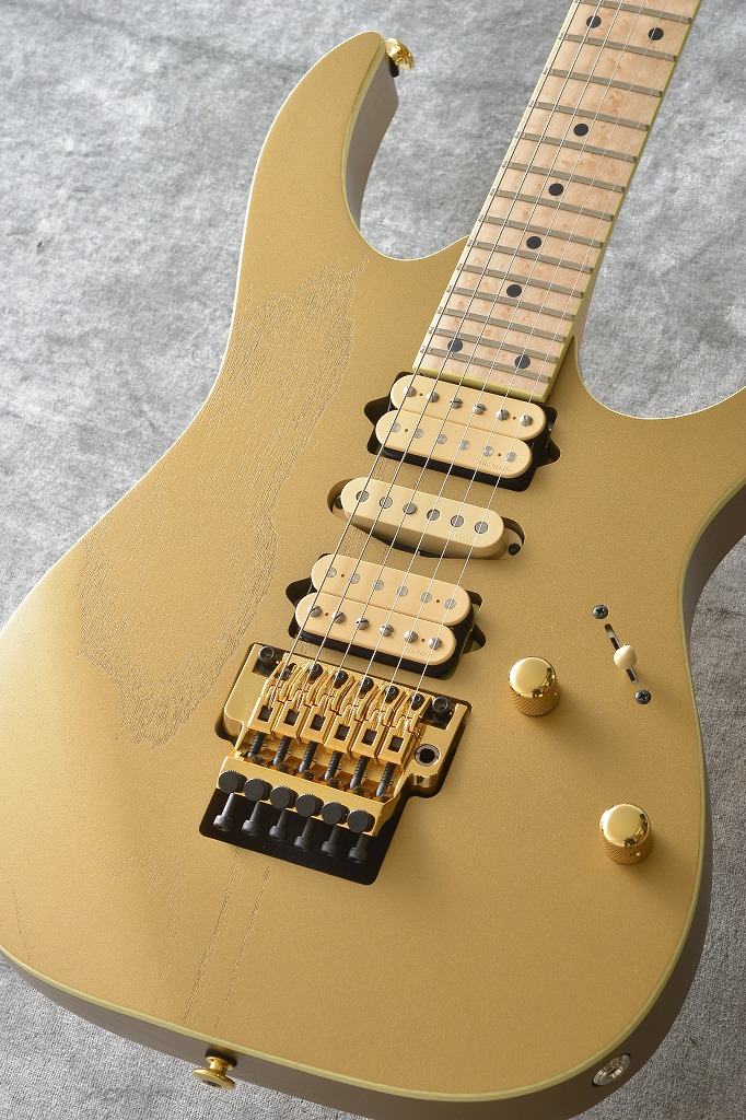 Ibanez RG657AHM-GDF(Gold Flat)-数量限定モデル-2018楽器フェア出展記念【2018年9月下旬発売・ご予約受付中】 【ONLINE STORE】