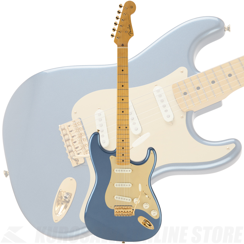 Fender Made in Japan Traditional 50s Stratocaster Anodized(Lake Placid Blue)[数量限定モデル]【送料無料】 【ONLINE STORE】