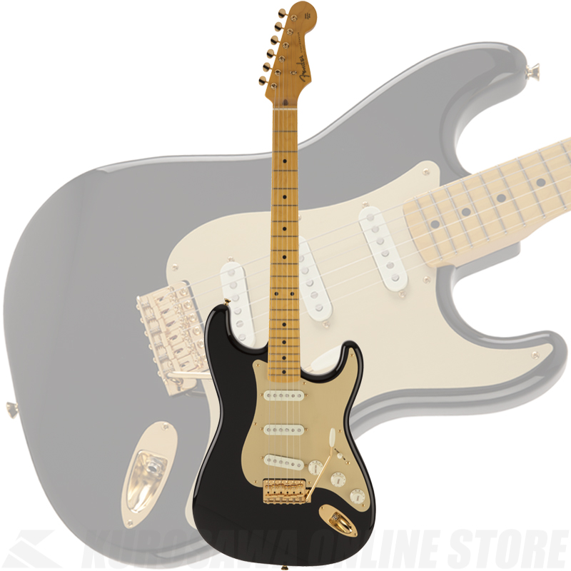 Fender Made in Japan Traditional 50s Stratocaster Anodized(Black)[数量限定モデル]【送料無料】 【ONLINE STORE】