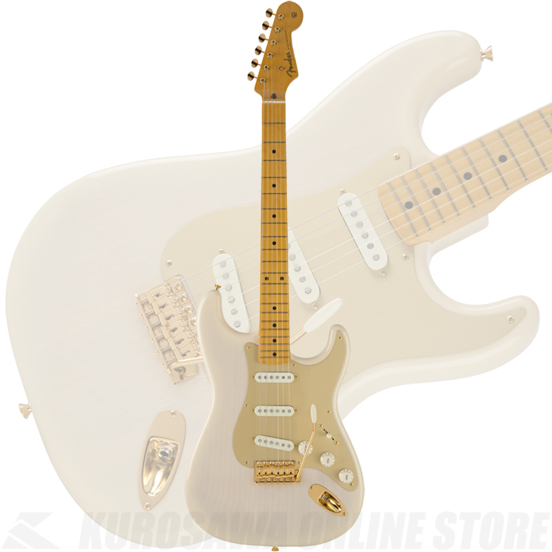 Fender Made in Japan Traditional 50s Stratocaster Anodized(White Blonde)[数量限定モデル]【送料無料】 【ONLINE STORE】