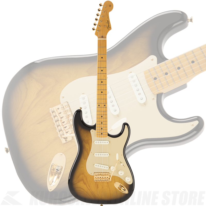Fender Made in Japan Traditional 50s Stratocaster Anodized(2-Color Sunburst)[数量限定モデル]【送料無料】 【ONLINE STORE】